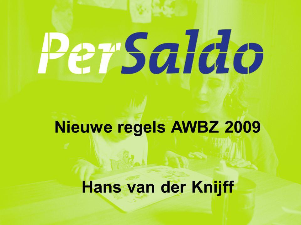 2Per Saldo, verantwoording over 2008, voorjaar 2009 Maatregelen VWS  Beperking OB/AB in toegang en omvang, o.a.