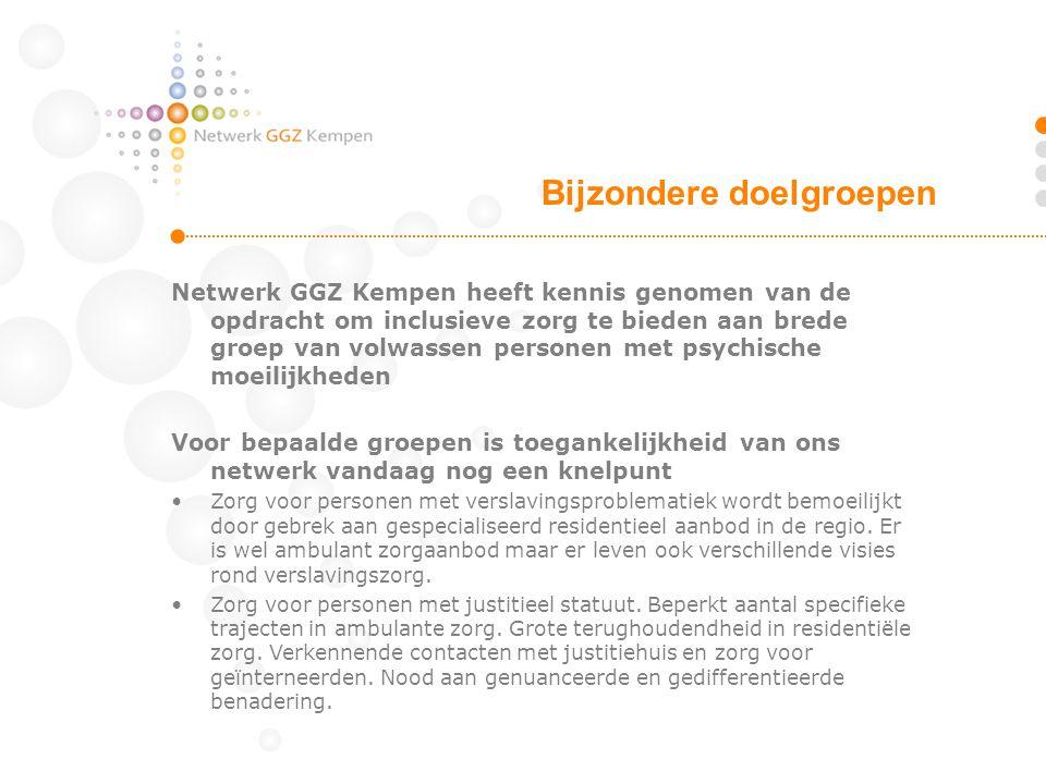 Netwerk GGZ Kempen heeft kennis genomen van de opdracht om inclusieve zorg te bieden aan brede groep van volwassen personen met psychische moeilijkhed