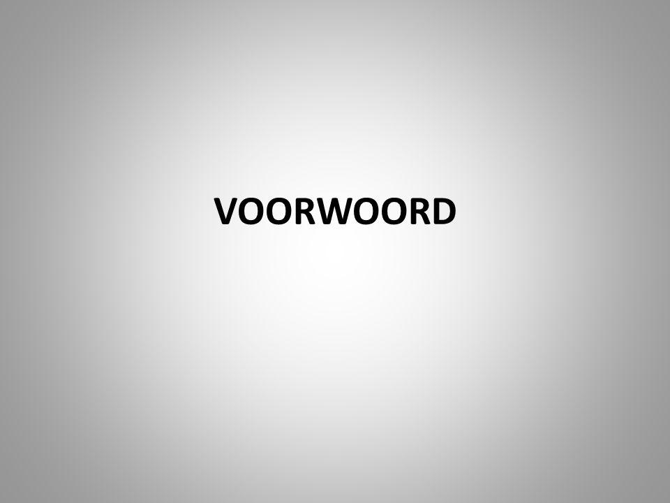 VOORWOORD