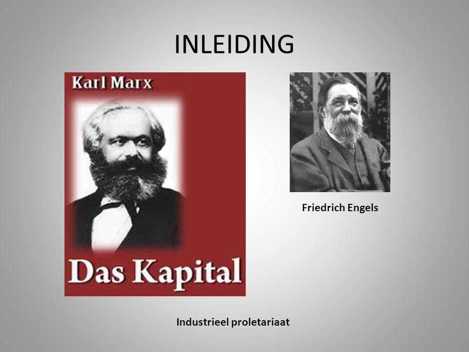 INLEIDING Industrieel proletariaat Friedrich Engels
