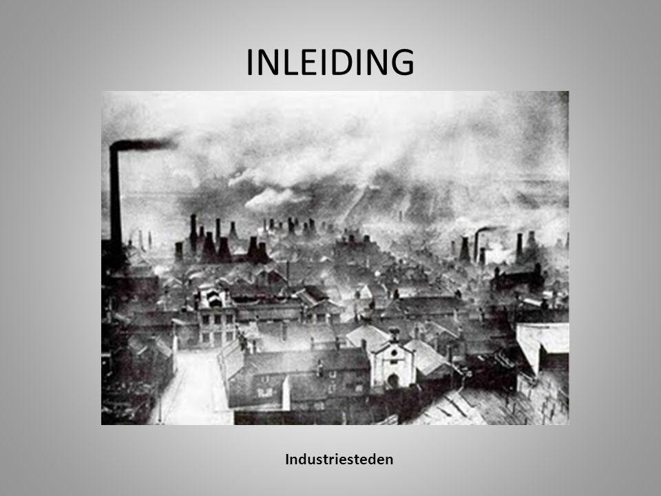 INLEIDING Industriesteden