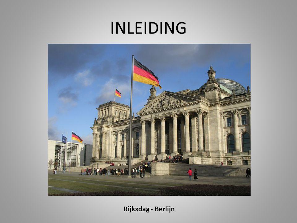 INLEIDING Rijksdag - Berlijn