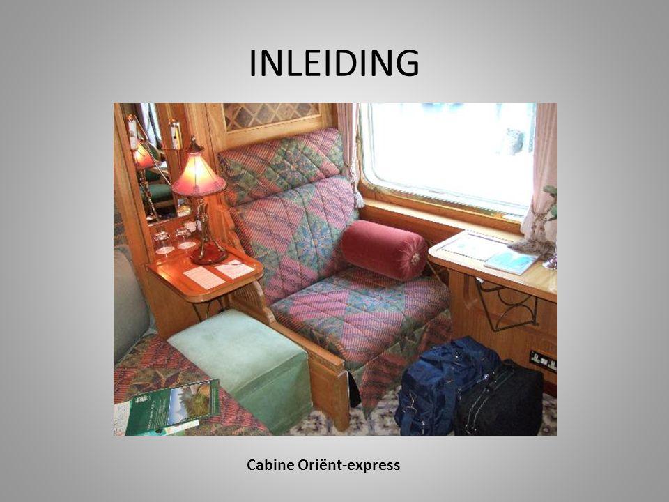 Cabine Oriënt-express