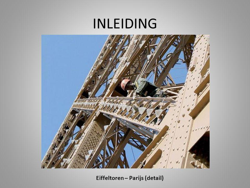 INLEIDING Eiffeltoren – Parijs (detail)