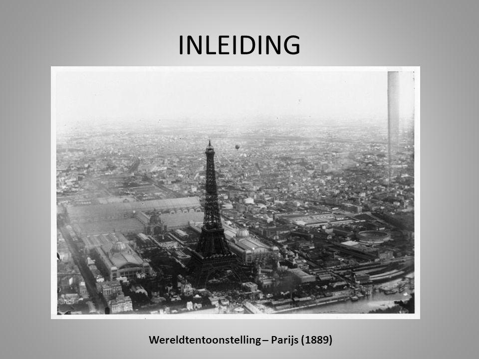 INLEIDING Wereldtentoonstelling – Parijs (1889)