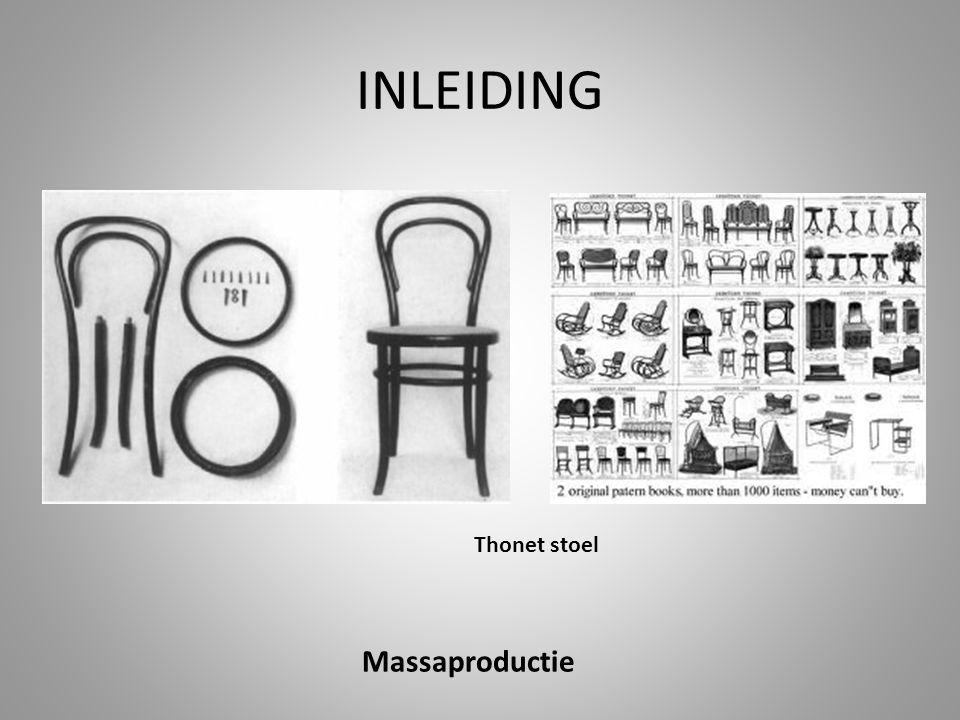 INLEIDING Massaproductie Thonet stoel