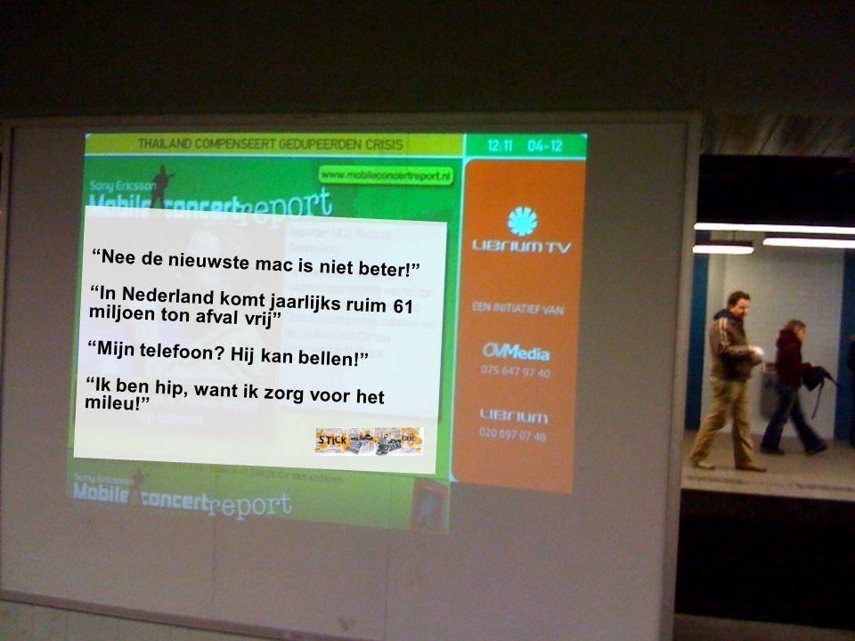 Nee de nieuwste mac is niet beter! In Nederland komt jaarlijks ruim 61 miljoen ton afval vrij Mijn telefoon.