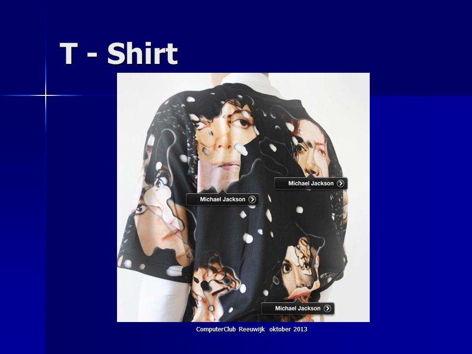 ComputerClub Reeuwijk oktober 2013 T - Shirt
