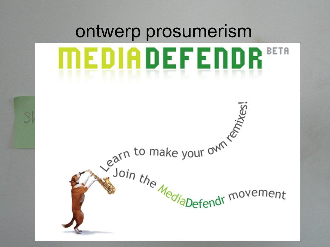 ontwerp prosumerism