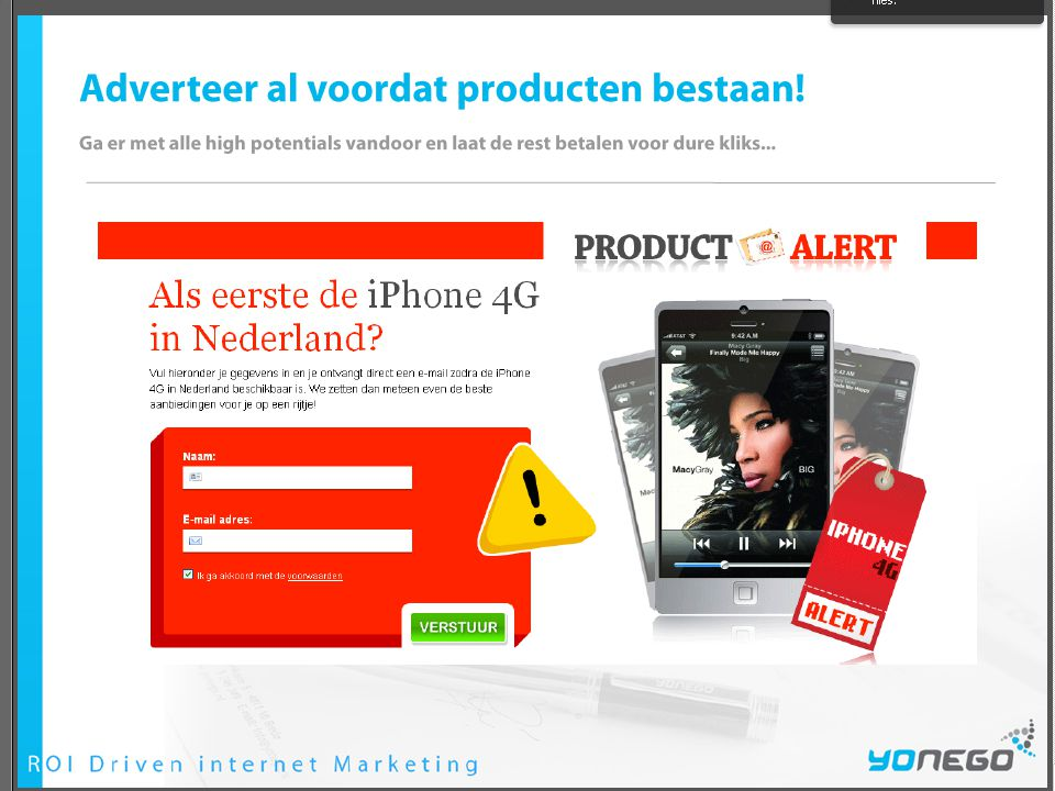 Opdracht 'landing pages'