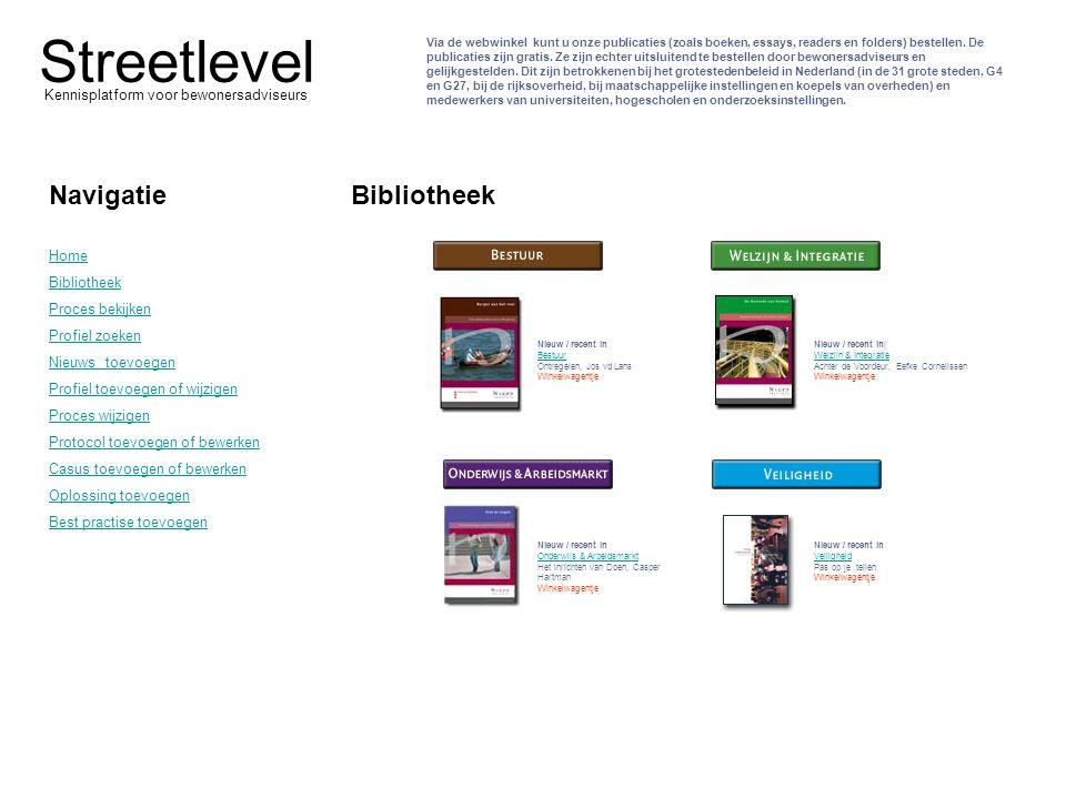 Via de webwinkel kunt u onze publicaties (zoals boeken, essays, readers en folders) bestellen. De publicaties zijn gratis. Ze zijn echter uitsluitend