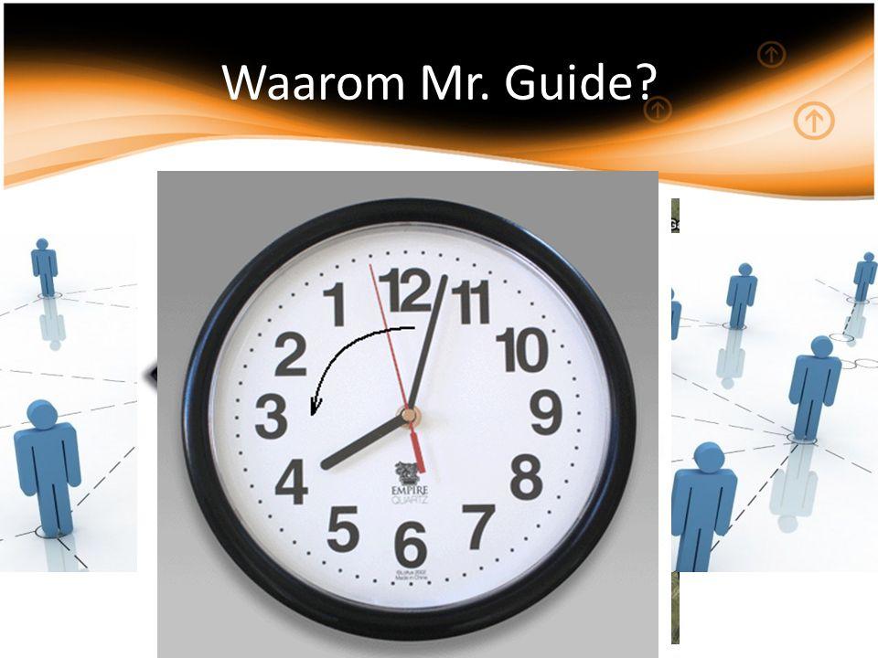 Waarom Mr. Guide