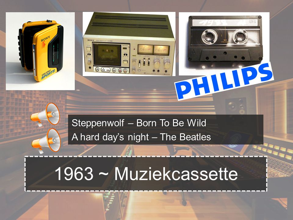 Steppenwolf – Born To Be Wild A hard day's night – The Beatles 1963 ~ Muziekcassette