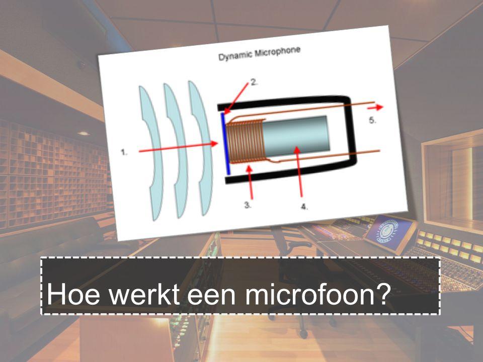 Hoe werkt een microfoon?