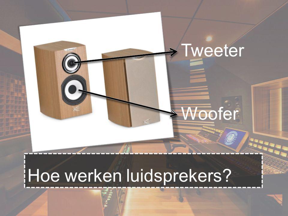 Hoe werken luidsprekers? Tweeter Woofer