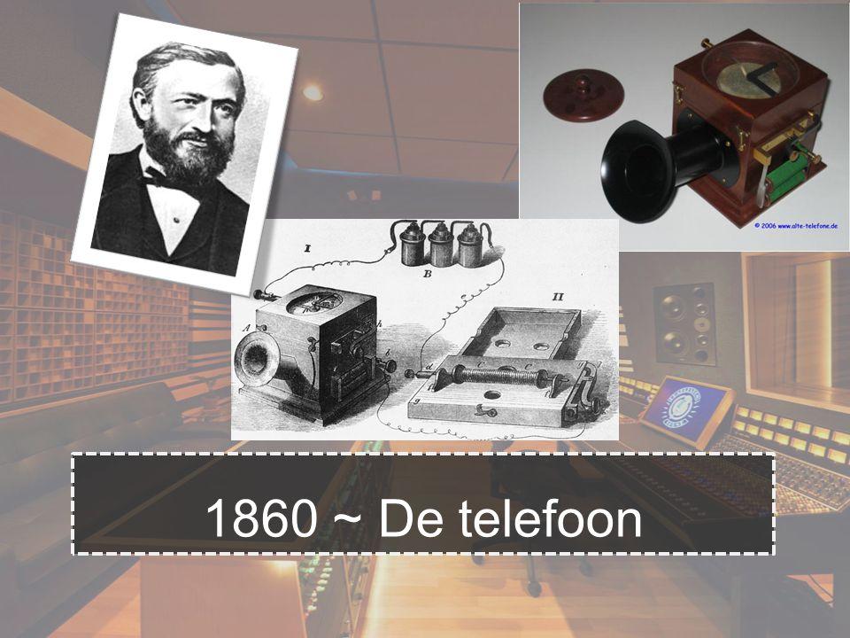 1860 ~ De telefoon