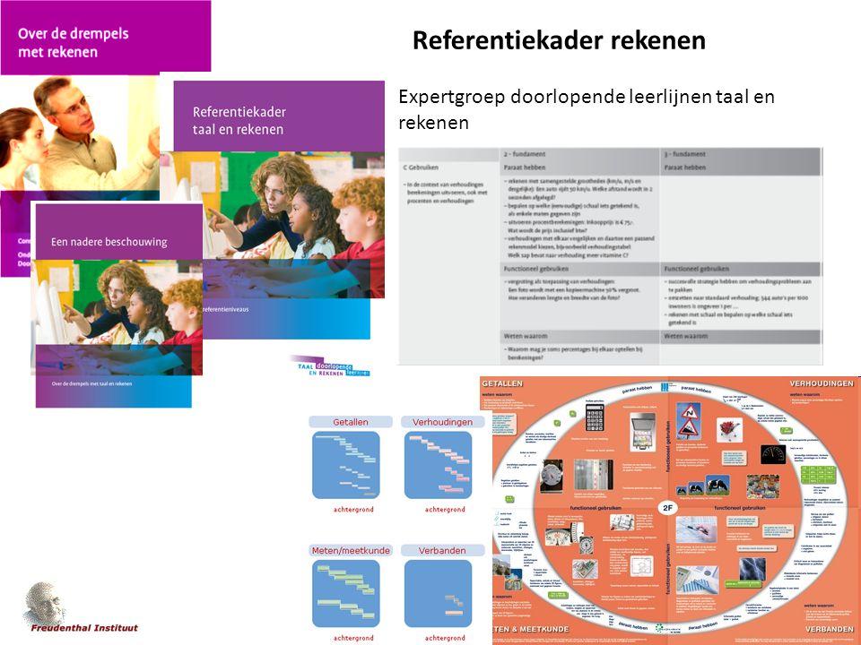 'n app a day Referentiekader rekenen Expertgroep doorlopende leerlijnen taal en rekenen