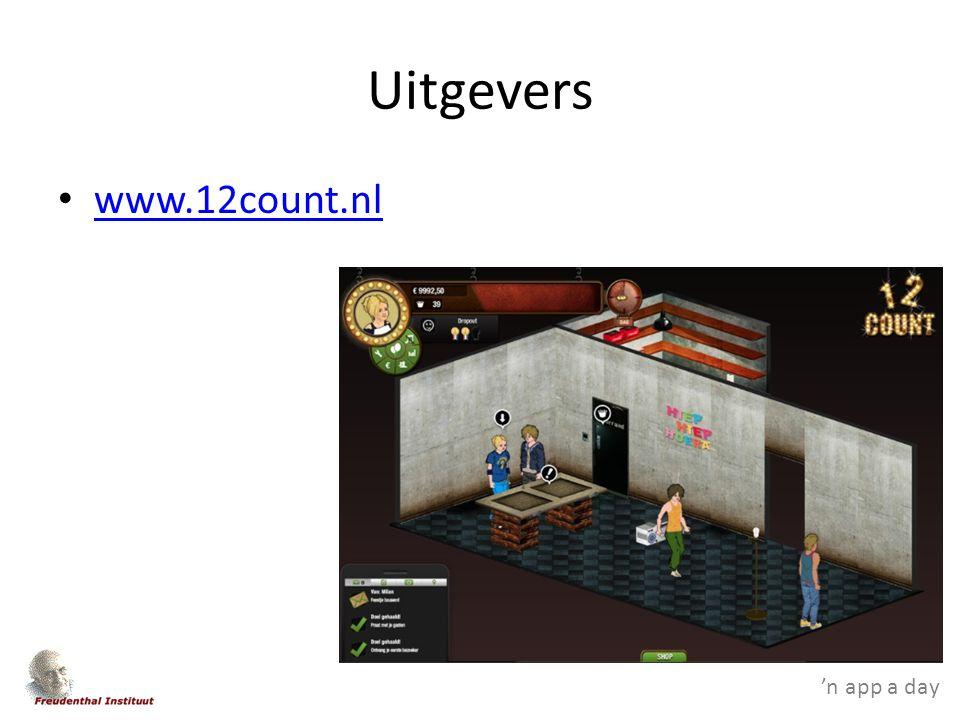 'n app a day Uitgevers www.12count.nl