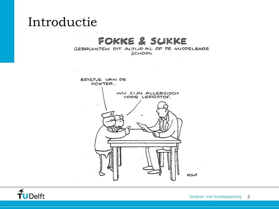 3 Studeren met functiebeperking Introductie