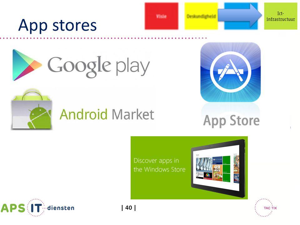 | 40 | App stores