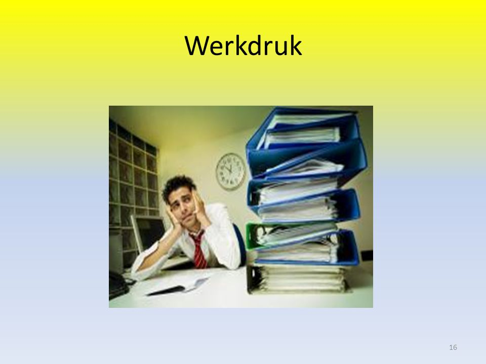 Werkdruk 16
