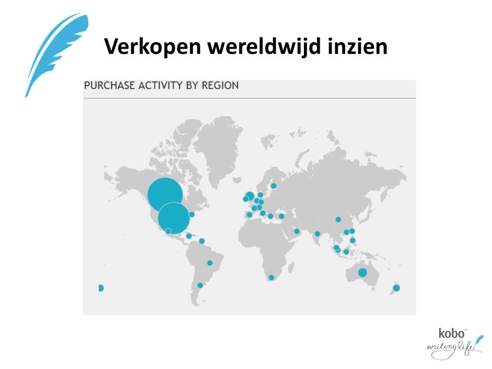 Verkopen wereldwijd inzien