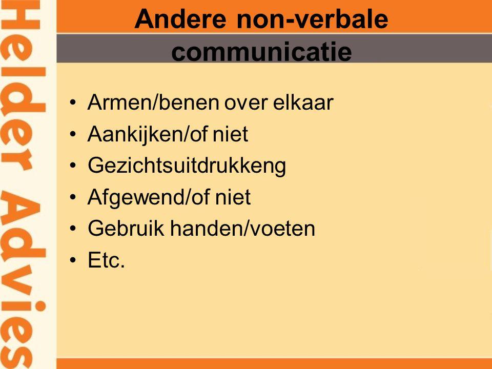 Non-verbale communicatie Stemgebruik heeft invloed Melodie Welluidendheid Zwijgen