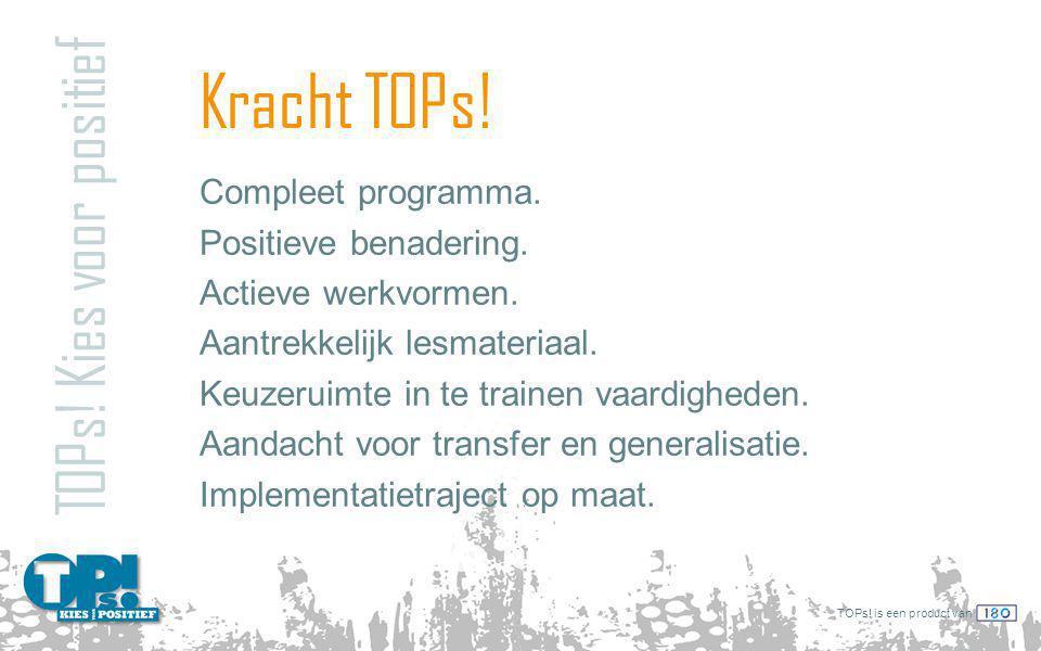 TOPs.is een product van TOPs. in schema TOPs.
