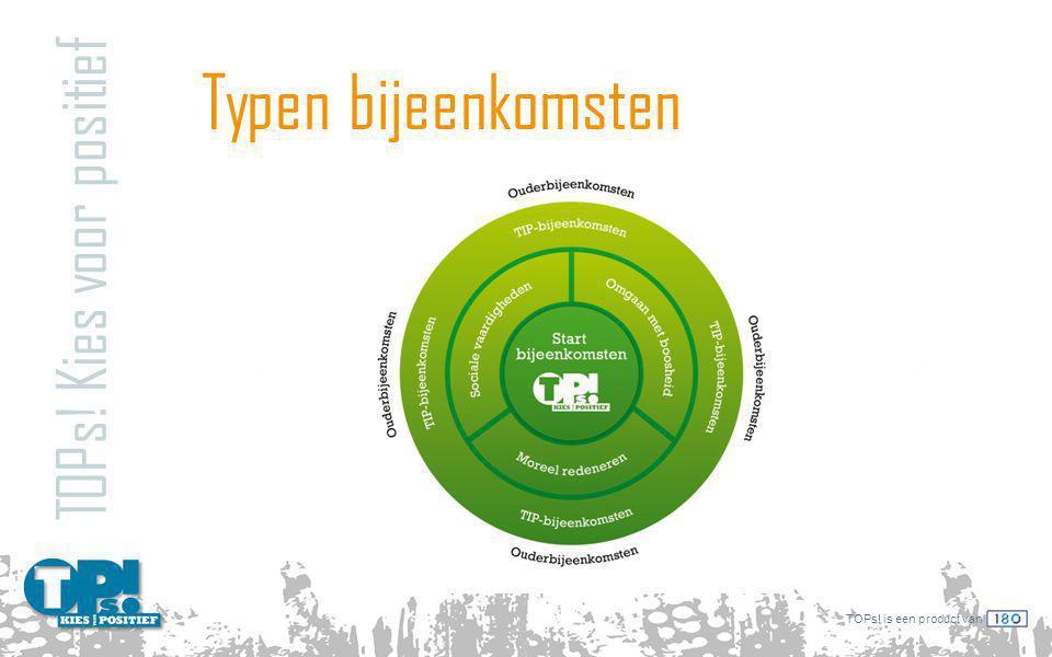 TOPs! is een product van Typen bijeenkomsten TOPs! Kies voor positief