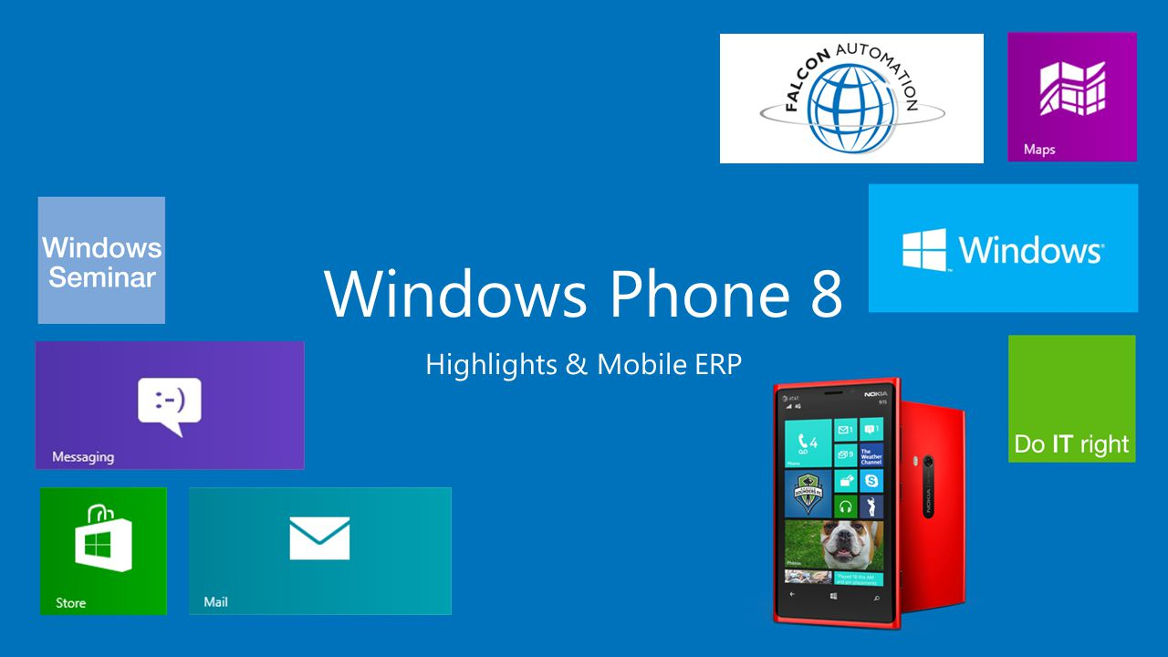 Windows Phone 8 Highlights & Mobile ERP