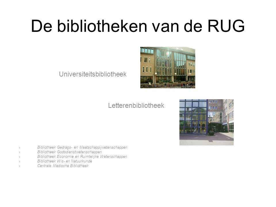 De bibliotheken van de RUG Universiteitsbibliotheek Letterenbibliotheek ›Bibliotheek Gedrags- en Maatschappijwetenschappen ›Bibliotheek Godsdienstwete