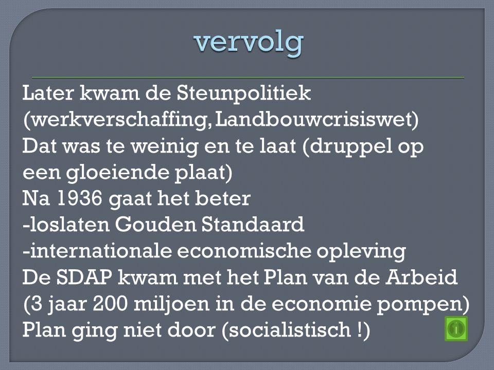 Nederland was een verdeeld land -kleine groep rijken -groeiende middenstand -groeiende,arme arbeidersklasse Er was een grote kloof tussen arm en rijk Je kon niet makkelijk opklimmen (als je voor een dubbeltje geboren bent dan wordt je nooit een kwartje) Er waren 2 soorten vakverenigingen -christelijke -socialistische