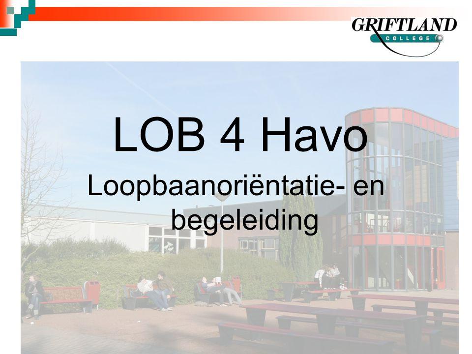 LOB 4 Havo Loopbaanoriëntatie- en begeleiding