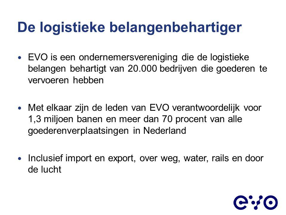 EVO is een vereniging Met inhoudelijke inbreng van leden gaat EVO aan de slag In verschillende organen van de Vereniging Regiobesturen Raden Of in netwerken SCM NEIL Jong Logistiek Nederland Topcoaches voor Toptalenten
