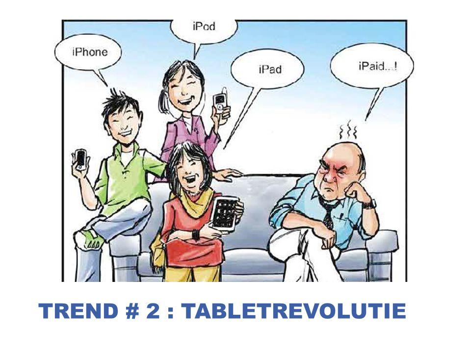 30 TREND # 2 : TABLETREVOLUTIE