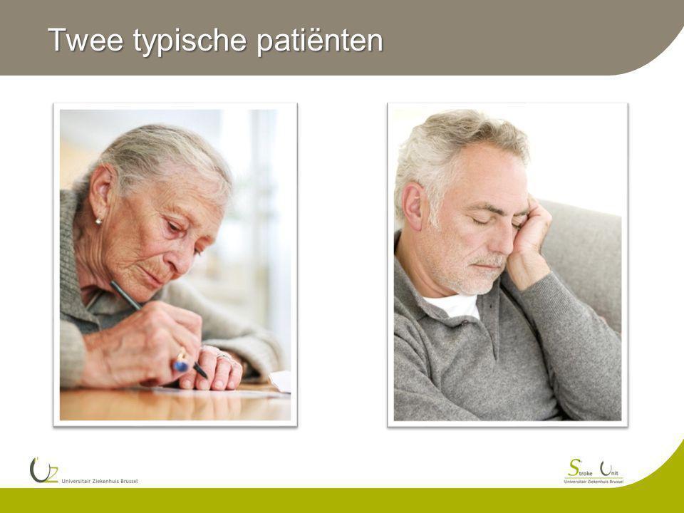 Twee typische patiënten