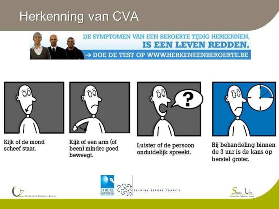 Herkenning van CVA