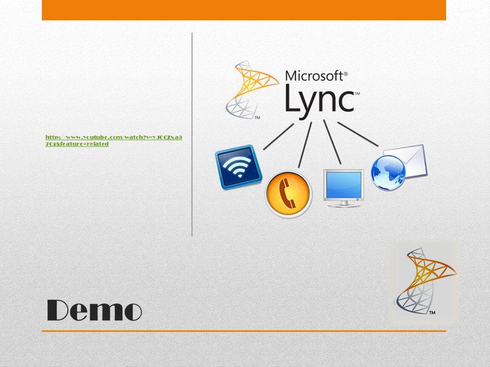 Wat is Lync ? Server voor bedrijfscommunicatie Vergelijking met MSN