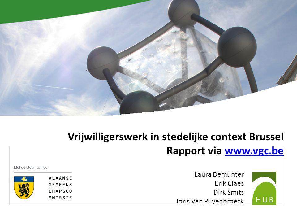Vb.2 Reflexieve vrijwilligerswerking PW0-onderzoek Herstelrecht in Brussel Waar en Wie.