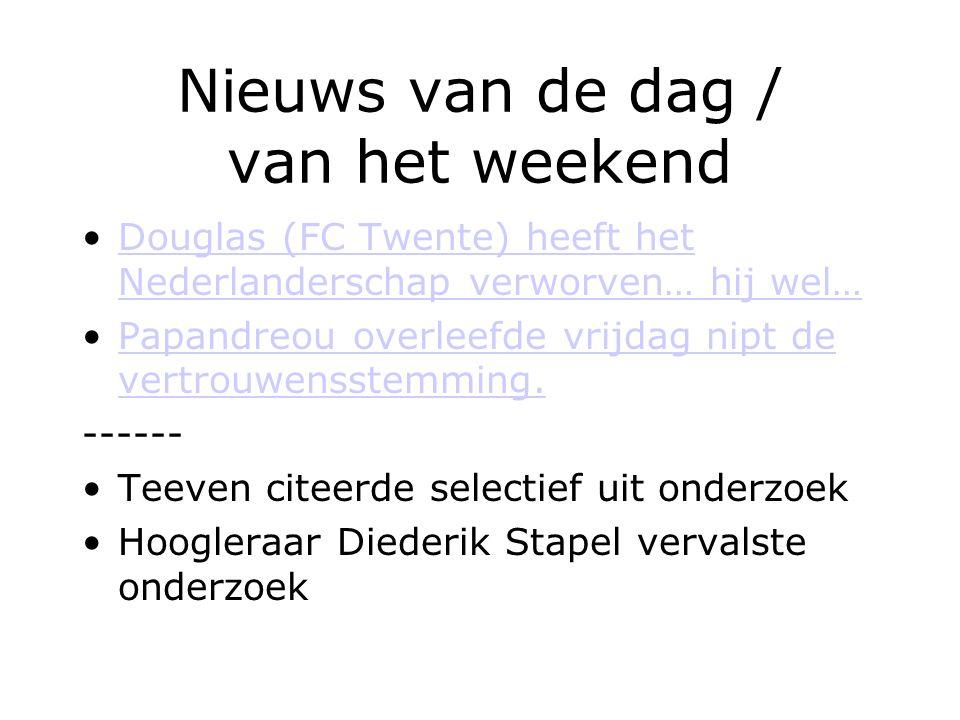 Nieuws van de dag / van het weekend Douglas (FC Twente) heeft het Nederlanderschap verworven… hij wel…Douglas (FC Twente) heeft het Nederlanderschap v