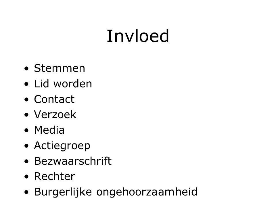Invloed Stemmen Lid worden Contact Verzoek Media Actiegroep Bezwaarschrift Rechter Burgerlijke ongehoorzaamheid
