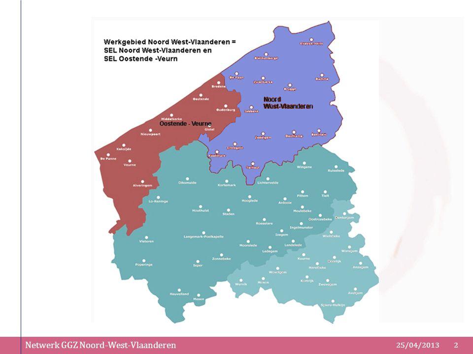 Netwerk GGZ Noord-West-Vlaanderen 25/04/20132