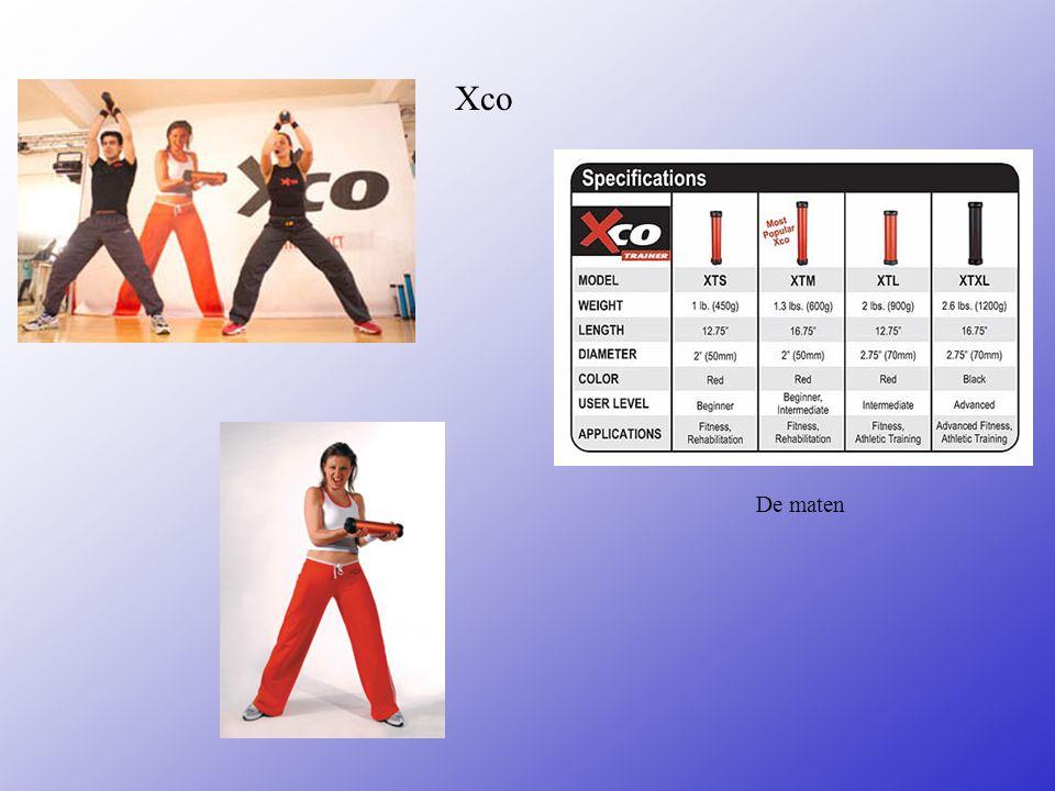 De lessen -Xco - Bodypump - Steps - Spinning - Aerobic