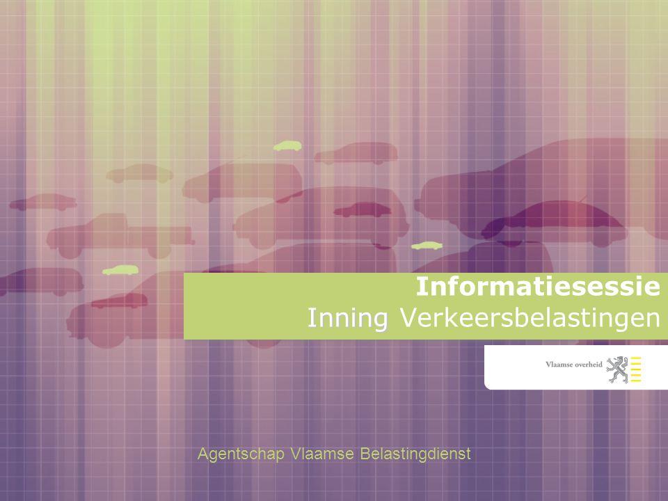 2 De leidend ambtenaar van het agentschap Vlaamse Belastingdienst heet u welkom Welkom!