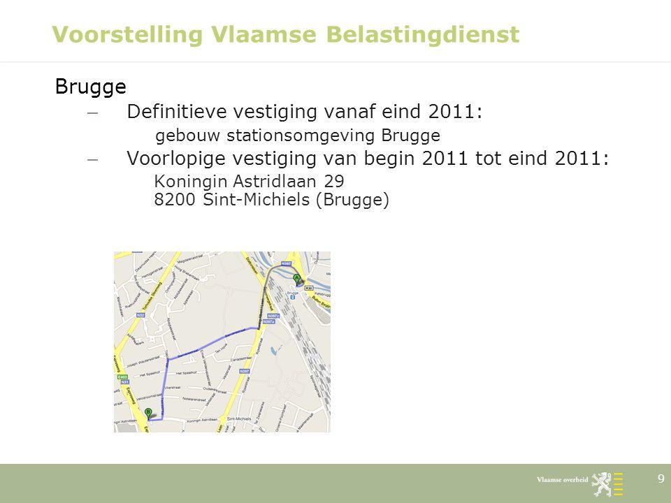 10 Voorstelling Vlaamse Belastingdienst Brussel Ellipsgebouw Koning Albert II-laan 35 1030 Brussel