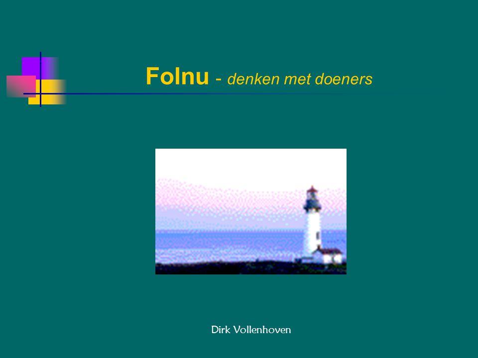 Folnu - denken met doeners Dirk Vollenhoven