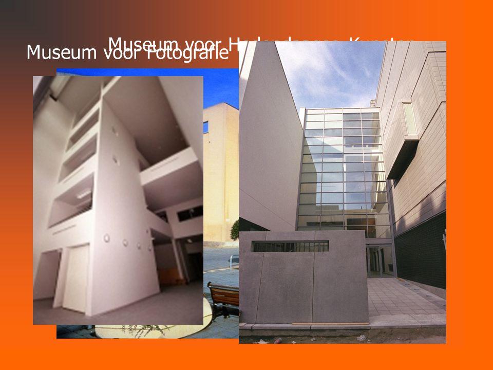Museum voor Hedendaagse Kunsten Museum voor Fotografie