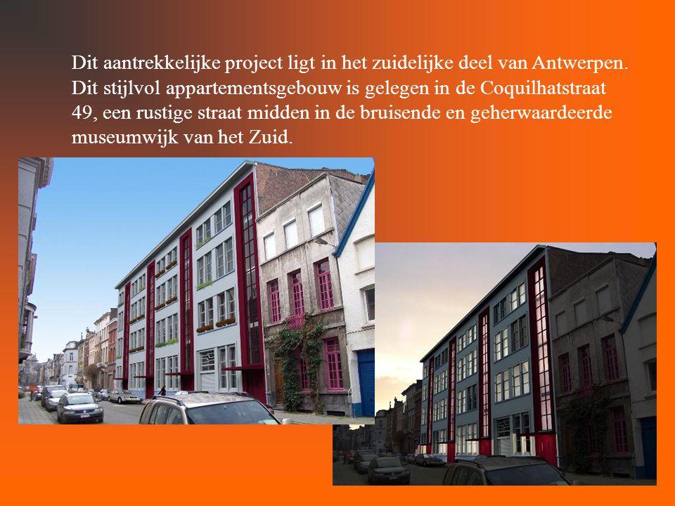 Dit aantrekkelijke project ligt in het zuidelijke deel van Antwerpen.