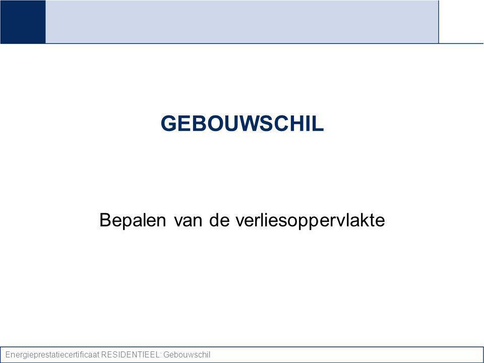 Energieprestatiecertificaat RESIDENTIEEL: Gebouwschil U-waarde: Vloeren Vaststellen isolatie/spouw.