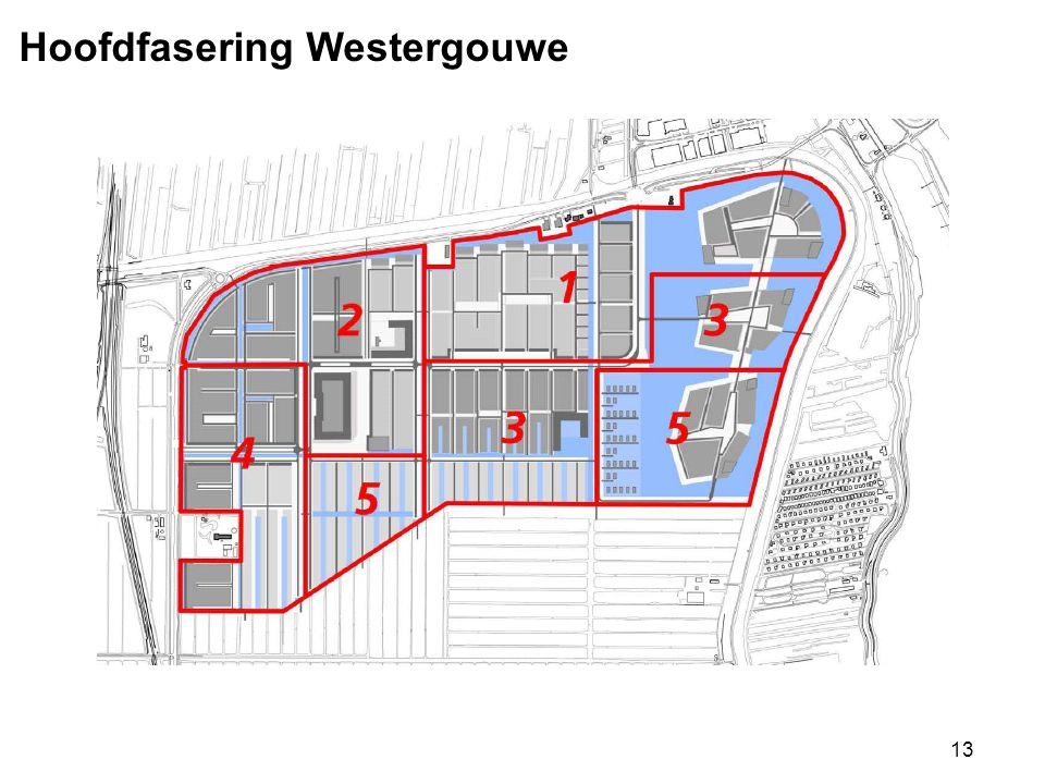 13 Hoofdfasering Westergouwe